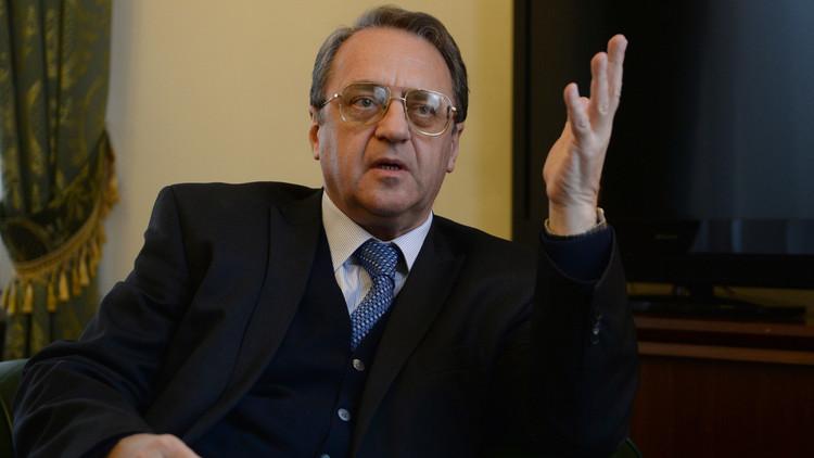 بوغدانوف: اتهامات علوش لروسيا