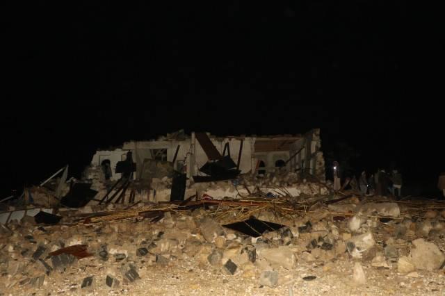 اليمن: جريمة العدوان السعودي البشعة بحق عزاء نساء في أرحب