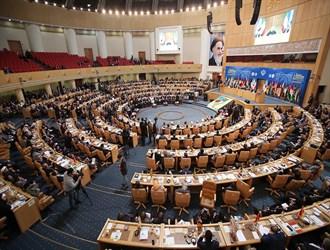 المشاركون في مؤتمر دعم الانتفاضة: هذه المؤتمرات تستطيع أن تعيد اتجاه البوصلة صوب القضية الفلسطينية