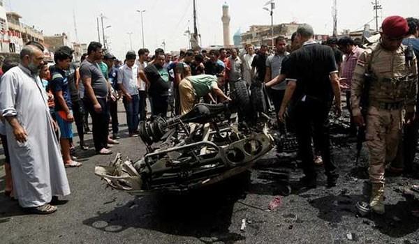 اعتداء ارهابي في منطقة البياع جنوبي بغداد