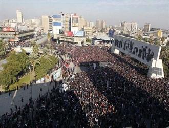 تظاهرات في بغداد.. الأمن يستخدم الغاز المسيل للدموع وسقوط قتلى وجرحى