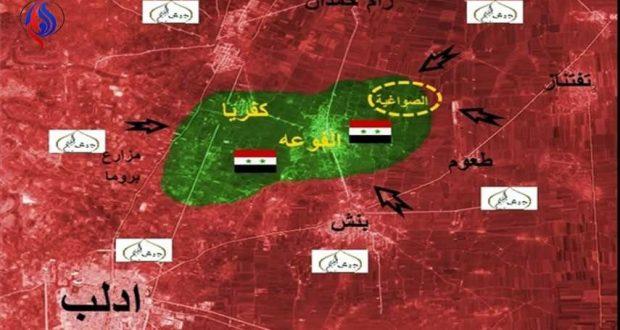 سقوط عدد من القذائف الهاون عند أطراف الفوعة بريف ادلب