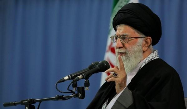 الامام الخامنئي: الحرب الحقيقية ضد ايران تتمثل بالحربين الثقافية والاقتصادية والحظر