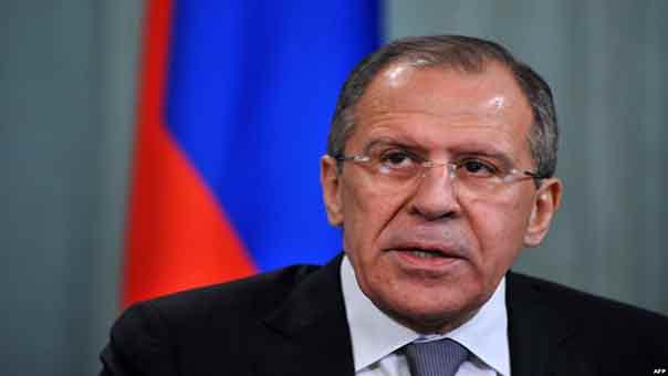 لافروف يعلن الإتفاق على هدنة في شرق أوكرانيا إعتبارًا من الإثنين