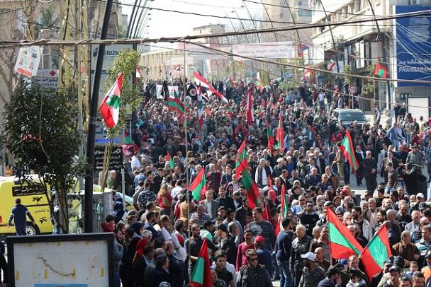 سعد في الذكرى 42 لاغتيال معروف سعد: للتمسك بقانون النسبية على اساس لبنان دائرة انتخابية واحدة
