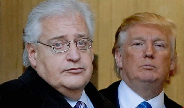 اليهود الليبراليون يعترضون على تعيين فريدمان سفيراً لأميركا لدى إسرائيل