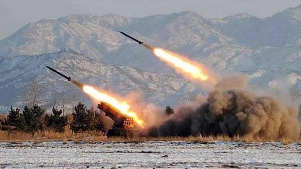 اطلاق صاروخ حيتس