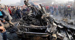 44 شخصا بين شهيد وجريح بانفجار سيارة مفخخة جنوب بغداد