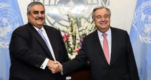لماذا تغيب التفاصيل الحقيقية لاجتماع الأمين العام للأمم المتحدة مع وفد وزير الخارجية البحريني؟
