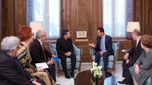 الرئيس الأسد خلال استقباله وفداً برلمانياً أوروبياً: سياسات بعض الدول الأوروبية الخاطئة أدت إلى انتشار الإرهاب