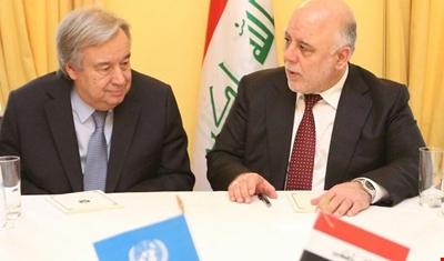 غوتيرش من بغداد: العراق في المراحل الأخيرة من معركته ضد الإرهاب