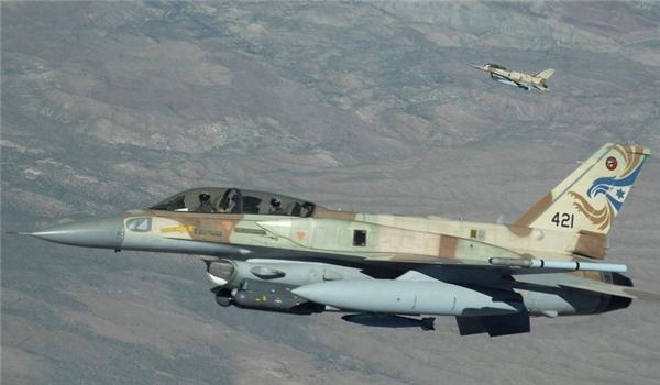 المضادات السورية تستهدف طائرات اسرائيلية