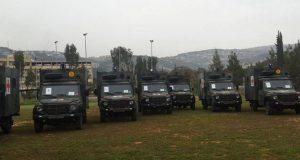 الجيش تسلّم 20 سيارة إسعاف عسكرية هبة من هولندا