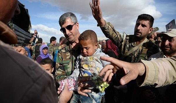 دخول قوافل مساعدات إنسانية إلى 4 مناطق في سوريا