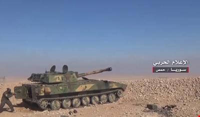 """الجيش السوري يحبط هجوما لـ""""داعش"""" على نقاط عسكرية في القريتين"""