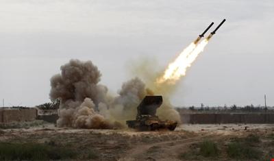 صاروخ بالستي يمني على شركة أرامكو السعودية بجيزان