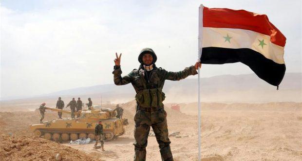 """الجيش السوري يستعيد جبل """"المزبد"""" شرق تدمر"""