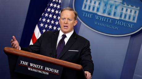 المتحدث الرسمي باسم البيت الأبيض، شون سبايسر.