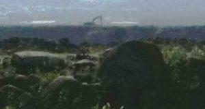 قوات العدو الاسرائيلي ترفع سواتر ترابية مقابل ميس الجبل وفي الوزاني، وباعمال جرف وتحصينات مقابل علما الشعب