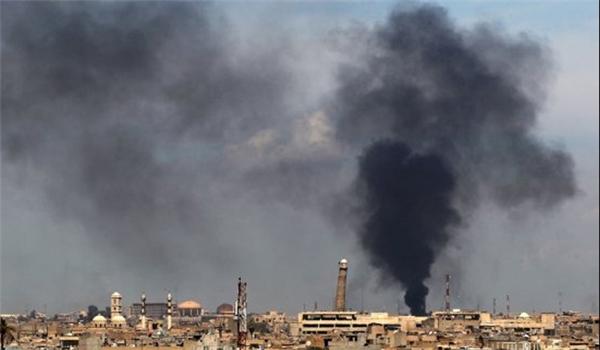تدمير مقر الطائرات المسيرة التابعة لداعش ومقتل خبراء اجانب بأيمن الموصل