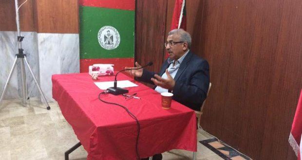 أسامة سعد: انتفاضة الأسرى تناضل لإعادة توجيه البوصلة نحو فلسطين