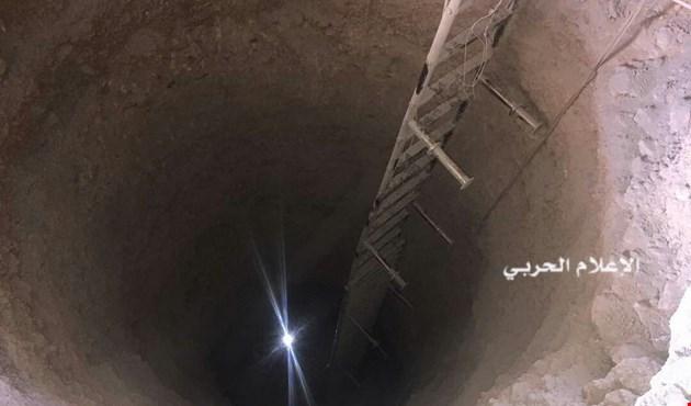 الجيش السوري يكتشف نفقاً بطول 500 متر بين مضايا وبقين