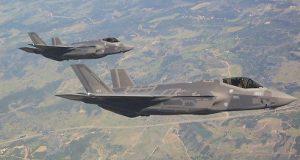 3 طائرات F-35 أميركية في طريقها الى #إسرائيل