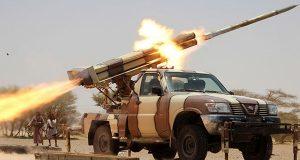 القوة الصاروخية والمدفعية اليمنية تدك تجمعات المرتزقة في تعز والبيضاء
