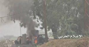 قنص جنديين سعوديين وتدمير طقم عسكري بجيزان