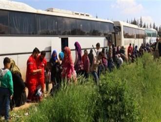 استئناف عمليات الإجلاء في الزبداني قرب دمشق