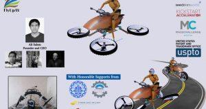 صناعة روبوت السيارة الطائرة بيد الباحثين الإيرانيين