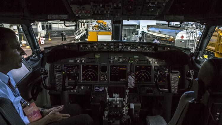قائد طائرة يرفض الإقلاع بسبب شبكة