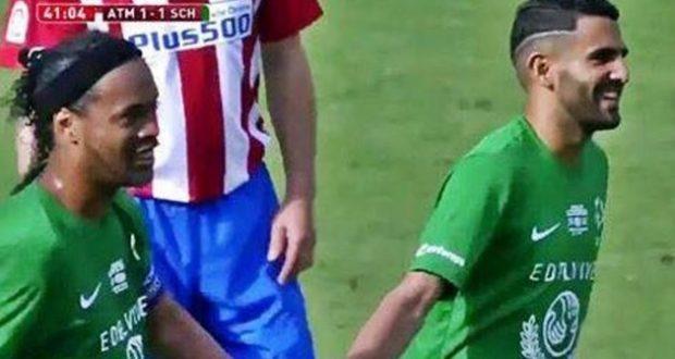 بالفيديو: تمريرة ساحرة من رونالدينيو لمحرز