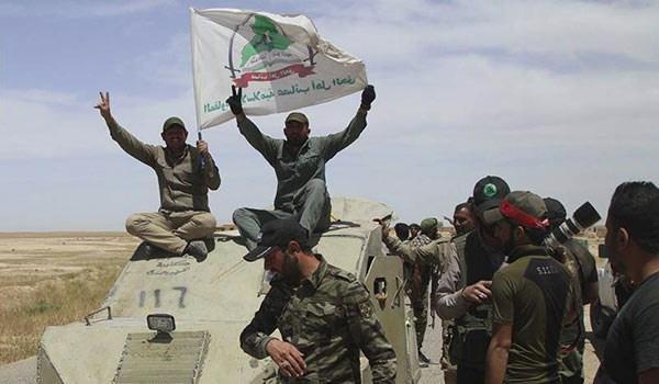 الحشد يحكم الطوق حول مركز القيروان غرب الموصل بـ300 درجة