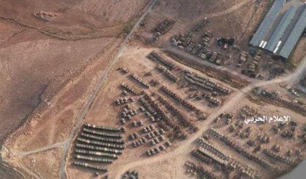 تحركات عسكرية ضخمة تنبئ باقتراب ساعة الصفر على الحدود السورية مع الأردن