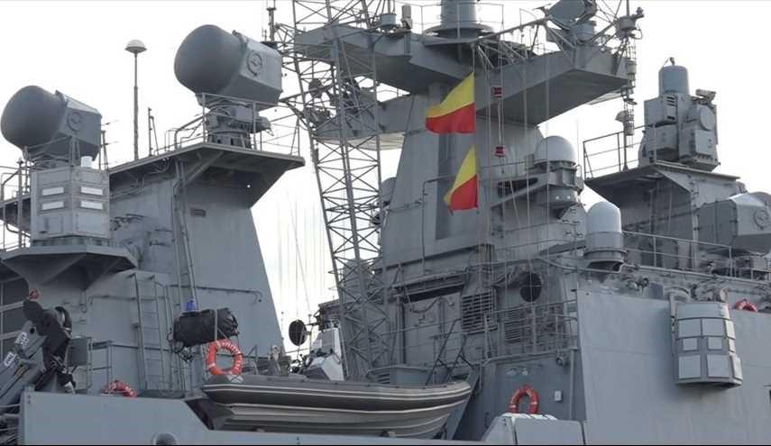 أحدث فرقاطات الأسطول الروسي تبدأ مناورات عند سواحل سوريا