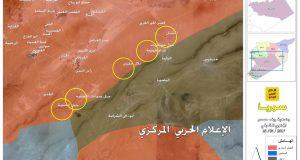 رغم الانذار الاميركي.. الجيش السوري وحلفاؤه يتقدمون للامساك بالحدود مع العراق
