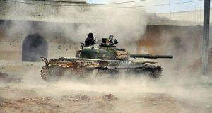 مصدر: التحالف الدولي يعتدي على نقطة عسكرية سورية على طريق التنف