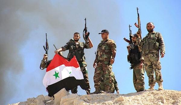 الجيش السوري على مشارف الفرات في محافظة الرقة