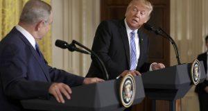 ترامب يتعهد بالحفاظ على التفوق العسكري لإسرائيل ضد جيوش المنطقة