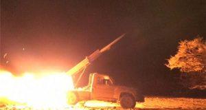 قصف صاروخي ومدفعي لمواقع وتجمعات للجنود السعوديين بجيزان ونجران