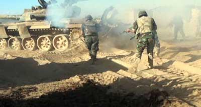 الجيش السوري يربط محاور البادية، ويتحضّر للسخنة