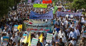 مسيرات احياء يوم القدس العالمي في ايران