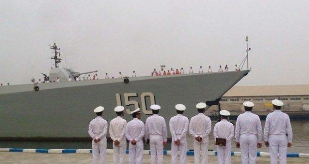 مجموعة السفن الحربية للجيش الصيني ترسو جنوبي إيران