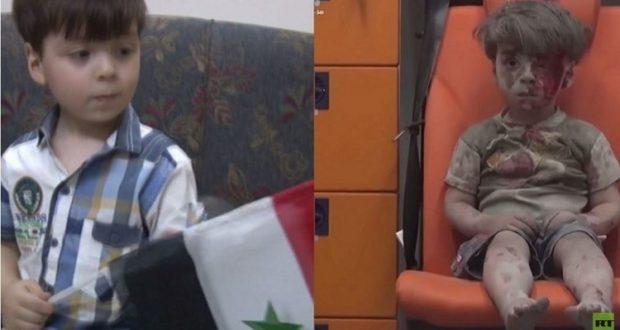 سيمونيان ستزور الطفل عمران في حلب بصحبة آمانبور!