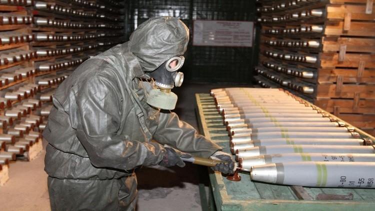 روسيا أتلفت 99% من مخزون أسلحتها الكيميائية