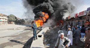 مقتل 24 وإصابة أكثر من 60 شخصا بتفجير انتحاري في ولاية هلمند بأفغانستان
