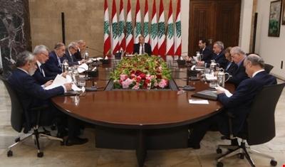 لقاء جامع لرؤساء الأحزاب اللبنانية برعاية عون: تأكيد على رفض التوطين
