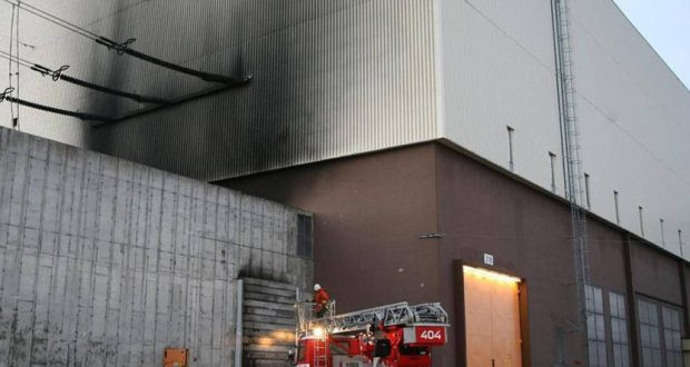 حريق في مفاعل نووي فرنسي