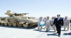 لأول مرة في سوريا.. روسيا تكشف للرئيس الأسد في حميميم عن مدرعة خارقة
